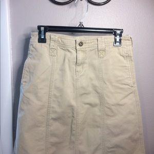 DKNY khaki skirt
